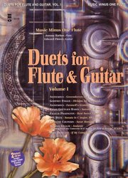 DUETS for Flute & Guitar, volume 1 + 2x CD / příčná flétna