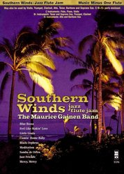 Music Minus One Southern Winds: Jazz Flute Jam + CD for C/Bb/Eb instruments