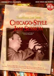 Music Minus One CHICAGO - STYLE JAM SESSION + 2x CD / trumpeta