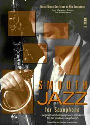 Smooth Jazz for Saxophone + CD      alto / tenor sax
