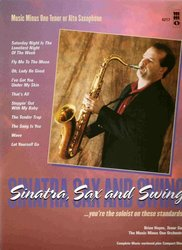 Music Minus One SINATRA, SAX AND SWING + CD alt /tenor saxofon