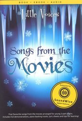 Little Voices - SONGS FROM MOVIES + Audio Online / 2-PARTS + piano/chords