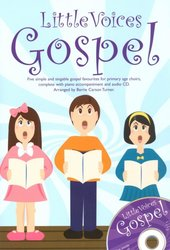 Novello Publishing Limited Little Voices - GOSPEL + CD / 2-PARTS + piano/chords