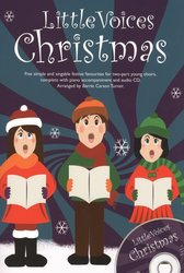 Little Voices - CHRISTMAS + Audio Online / 2-PARTS + piano/akordy
