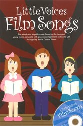 Little Voices - FILM SONGS + CD / 2-PARTS + piano/akordy