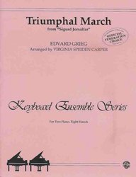 TRIUMPHAL MARCH - E.GRIEG 2P/8H