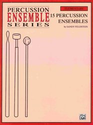 15 PERCUSSION ENSEMBLES (TRIOS)  grade 1