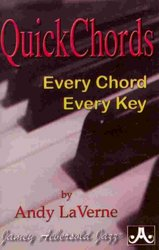 QUICK CHORDS (every chord, every key)  pocket book            piano / keyboard