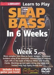 SLAP BASS in 6 Weeks by Phil Williams - Week 5 - DVD