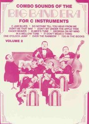 Warner Bros. Publications COMBO SOUNDS - BIG BAND v2 / C instruments trios
