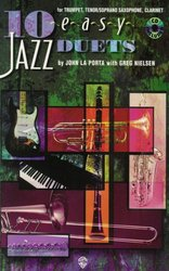 10 EASY JAZZ DUETS + CD - Bb instrument