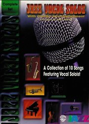 JAZZ VOCAL SOLOS with WB JAZZ COMBO - collection (9 ks)
