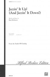 ALFRED PUBLISHING CO.,INC. JAZZIN´ IT UP ! /  SATB, SAB or 2-part*