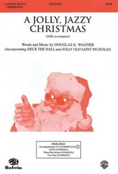 A JOLLY JAZZY CHRISTMAS / SATB*
