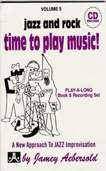 AEBERSOLD PLAY ALONG 5 - TIME TO PLAY MUSIC + CD