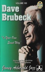 AEBERSOLD PLAY ALONG 105 - DAVE BRUBECK + CD