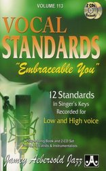 JAMEY AEBERSOLD JAZZ, INC AEBERSOLD PLAY ALONG 113 - EMBRACEABLE YOU for Low&High voice +