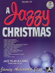 AEBERSOLD PLAY ALONG 129 - A JAZZY CHRISTMAS + CD