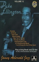 JAMEY AEBERSOLD JAZZ, INC AEBERSOLD PLAY ALONG 12 - DUKE ELLINGTON  + CD