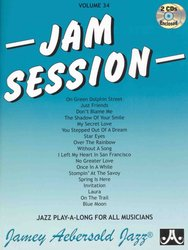 AEBERSOLD PLAY ALONG 34 - JAM SESSION + CD