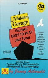 JAMEY AEBERSOLD JAZZ, INC AEBERSOLD PLAY ALONG 54 - MAIDEN VOYAGE + CD