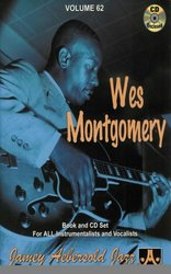 AEBERSOLD PLAY ALONG 62 - WES MONTGOMERY + CD