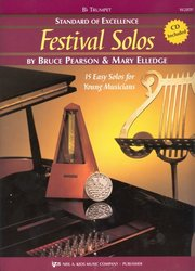 Standard of Excellence: Festival Solos 1 + CD / trumpeta