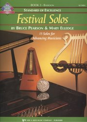 Standard of Excellence: Festival Solos 3 + Audio Online / fagot