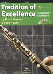 Tradition of Excellence 3 + Audio Video Online / Eb klarinet
