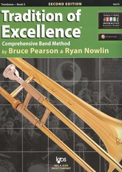 Tradition of Excellence 3 + Audio Video Online / trombon (pozoun)
