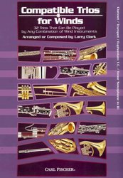 CARL FISCHER Compatible Trios Winds // klarinet / trumpeta / tenor saxofon ...