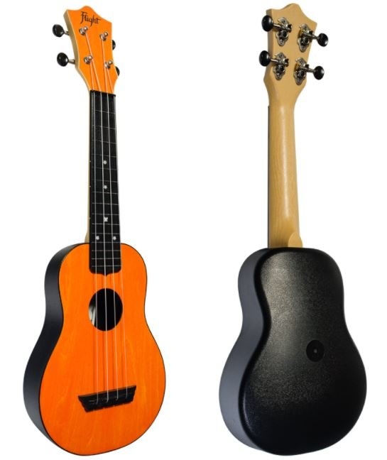 Flight TUS 35 OR ORANGE ukulele sopránové