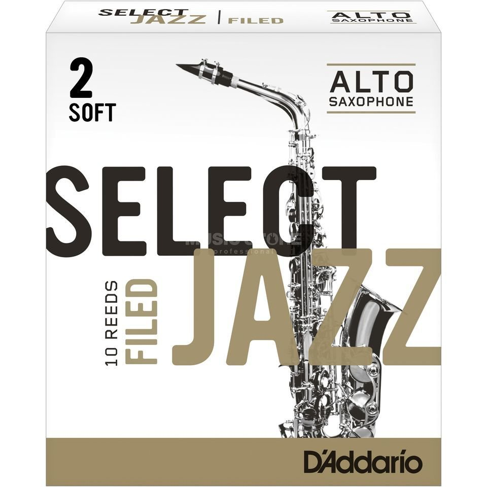 D'Addario Select Jazz Filed plátek pro alt saxofon tvrdost 2S