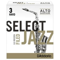 D'Addario Select Jazz Filed plátek pro alt saxofon tvrdost 3H