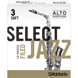 D'Addario Select Jazz Filed plátek pro alt saxofon tvrdost 3S