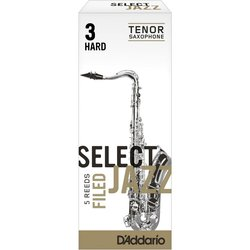 D'Addario Select Jazz Filed plátek pro tenor saxofon tvrdost 3H