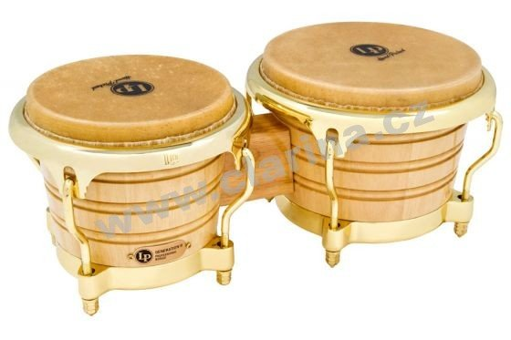 Latin Percussion Generation II Wood Bongos LP201AX-2AW