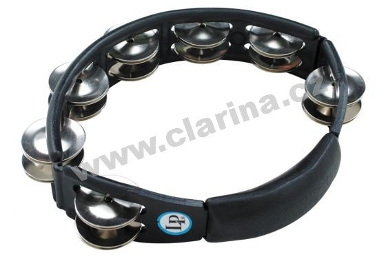 Latin Percussion LP150 Tamburina, Cyclops® Jingle Tambourine