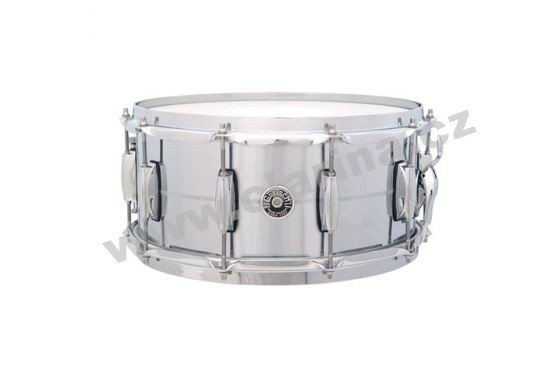 "Gretsch malý buben USA Brooklyn Series Chrome Over Brass 14"" x 6,5"" GB4164"