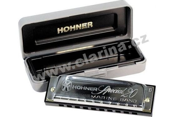 Hohner M560886 Special 20 Country Tuning foukací harmonika 560/20 G Dur