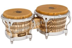 Latin Percussion Galaxy Giovanni Series Wood Bongos LP793X-C