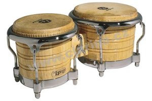 Latin Percussion Generation II Wood Bongos LP201AX-2