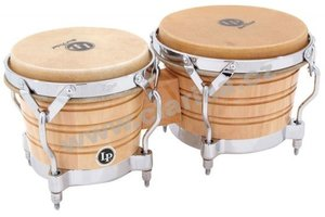 Latin Percussion Generation II Wood Bongos LP201A-2