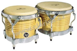 Latin Percussion Matador Wood Bongos M201-AWC