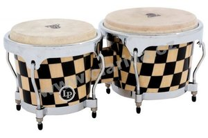 Latin Percussion Aspire Accents Wood Bongos LPA601-CHKC