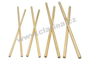 "Latin Percussion Paličky na Timbaly 15"" x 3/8"" Hickory 6 Párů!!! Wood Timbale Sticks"