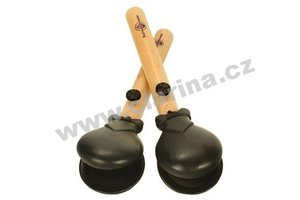 Black Swamp Percussion Concert Castanets Ebony, large, paar