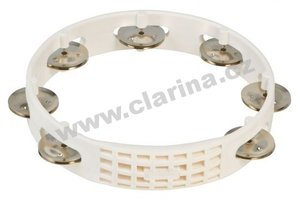 "Latin Percussion Tamburina 8"", Aspire® Plastic Tambourine"