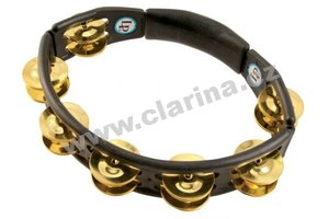 Latin Percussion Tamburina, Cyclops® Jingle Tambourine - Brass