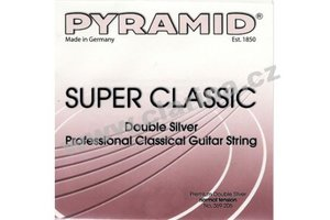 PYRAMID Super Clasic  - sada strun pro kytaru, hard tension